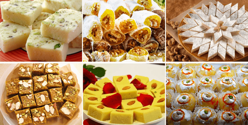 Famous desserts you can find in India